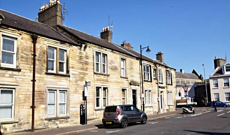 1 Bedroom Flat for sale in Charlotte Street , Ayr , South Ayrshire , KA7 1DZ