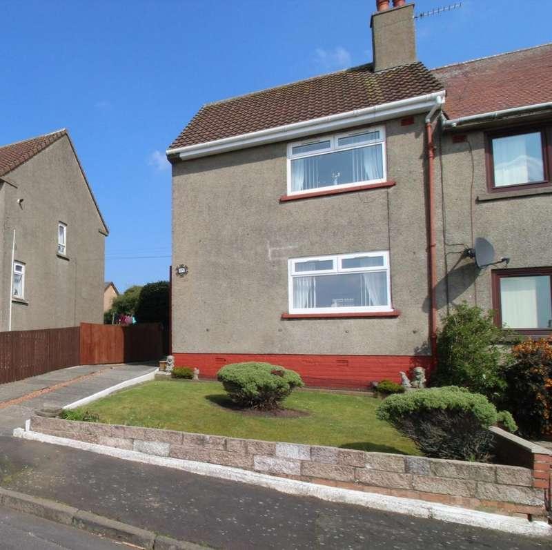 2 Bedrooms End Of Terrace House for sale in Hemphill View, Knockentiber, KA2