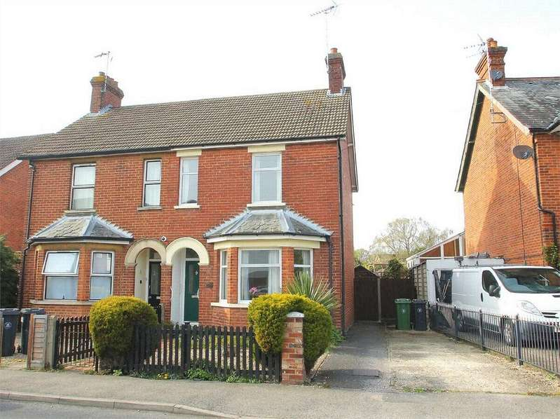 3 Bedrooms Semi Detached House for sale in Gordon Avenue, Camberley, Surrey