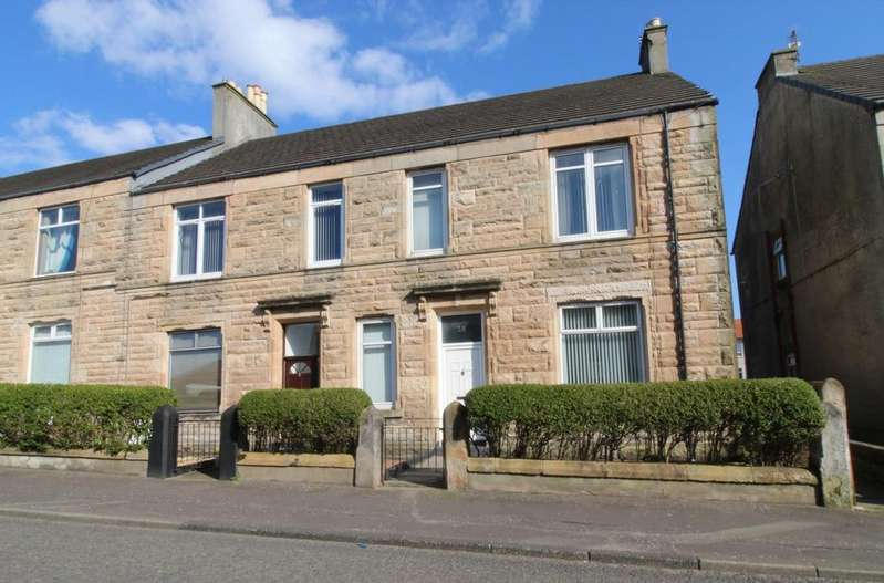 2 Bedrooms Flat for sale in Sharphill Road, Saltcoats, KA21