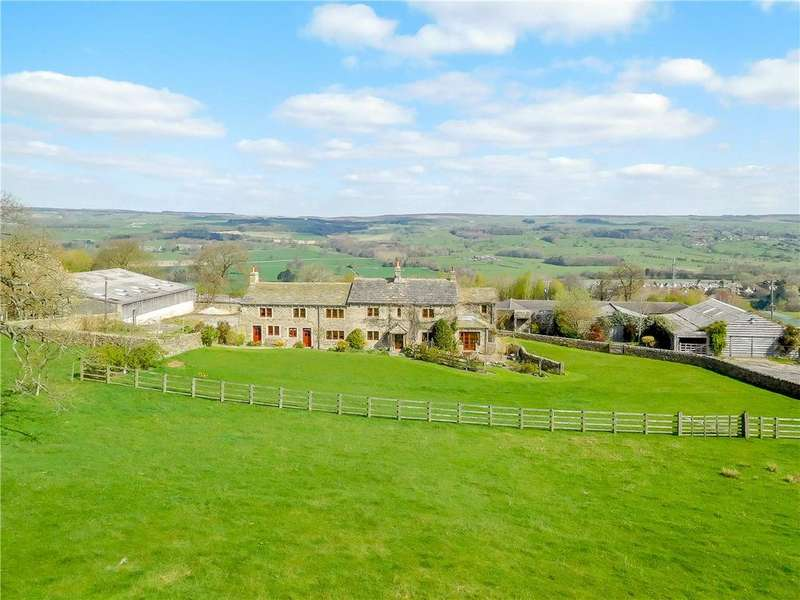 5 Bedrooms Equestrian Facility Character Property for sale in Low House Farm, Burley Woodhead, Near Ilkley, West Yorkshire, LS29