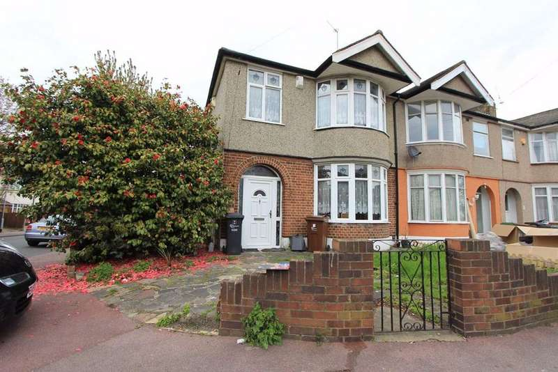 3 Bedrooms End Of Terrace House for sale in The Drive, Barking, Essex, IG11