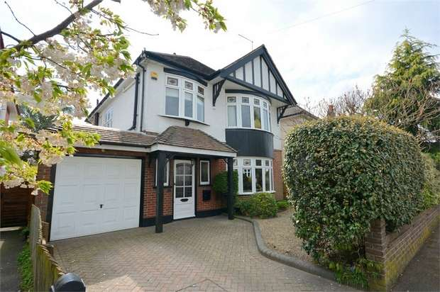 4 Bedrooms Detached House for sale in Strouden Avenue, Queens Park, Bournemouth