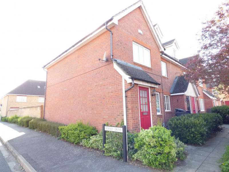 2 Bedrooms End Of Terrace House for sale in Bedford, Beds, MK42 9FQ