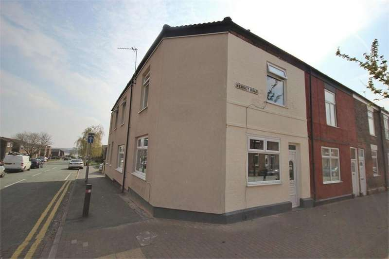 4 Bedrooms End Of Terrace House for sale in 77 Mersey Road, WIDNES, Cheshire