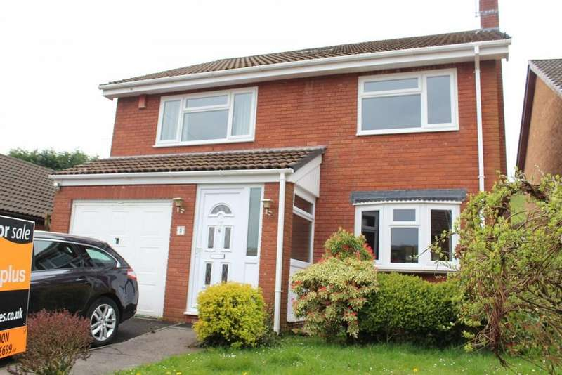 4 Bedrooms Detached House for sale in Bryn Rhedyn, Tonyrefail - Porth