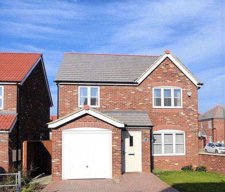 4 Bedrooms Detached House for sale in The Opal, Kirton In Lindsey, North Lincolnshire, DN21
