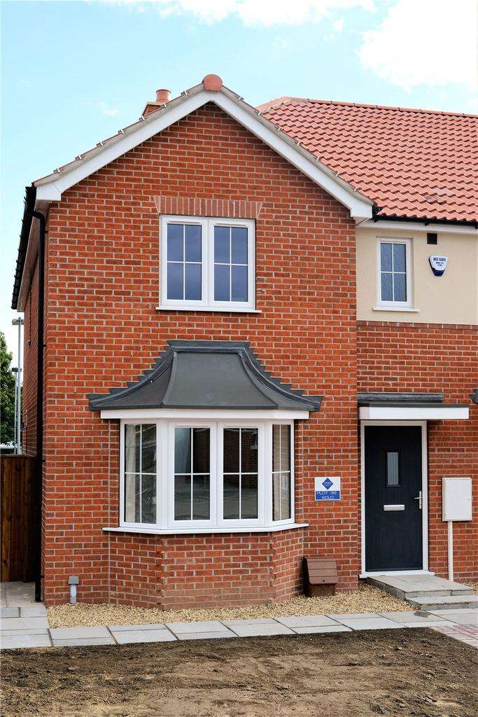 3 Bedrooms End Of Terrace House for sale in The Iolite Plus, Kirton In Lindsey, North Lincolnshire, DN21