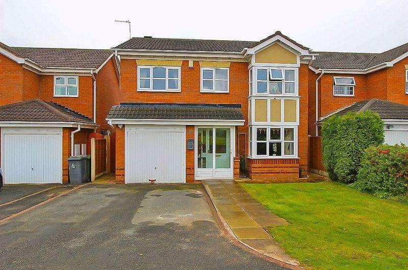 4 Bedrooms Detached House for sale in Walcot Gardens, Bilston