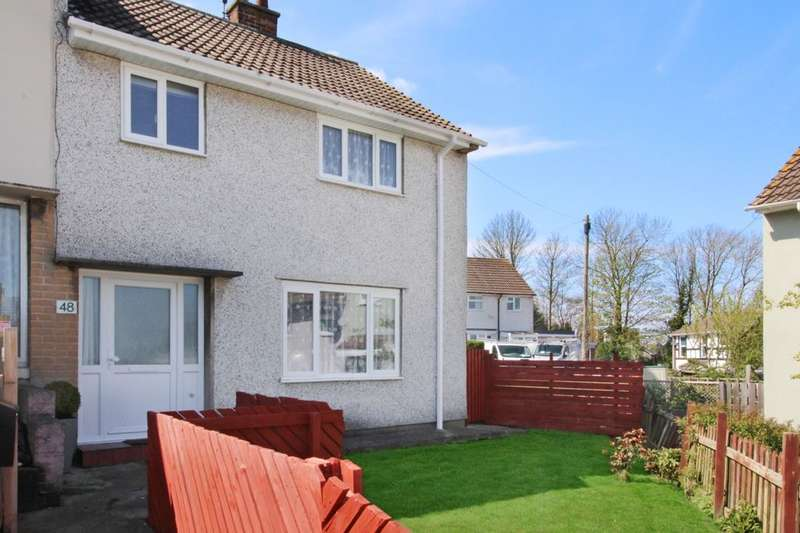 3 Bedrooms Semi Detached House for sale in Brendon Road, Portishead, Bristol, BS20