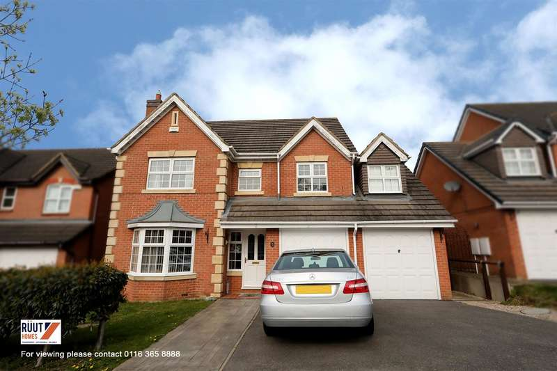 5 Bedrooms Detached House for sale in Allerton Drive, Leicester