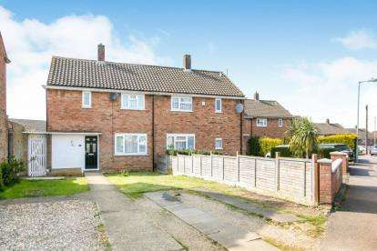 3 Bedrooms Semi Detached House for sale in Hollybush Road, Luton, Bedfordshire