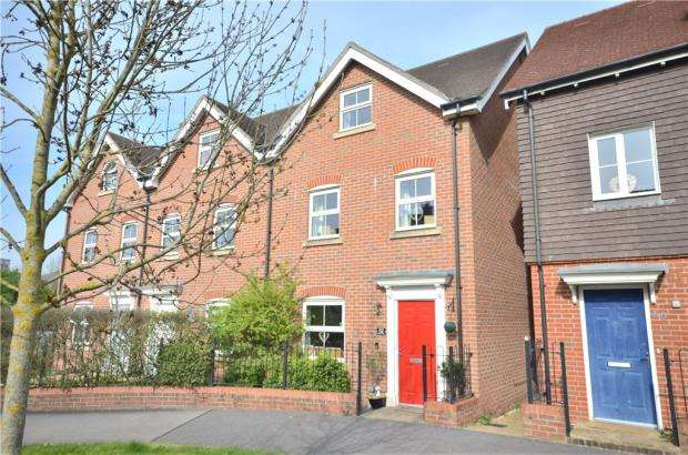 3 Bedrooms End Of Terrace House for sale in Butler Drive, Bracknell, Berkshire