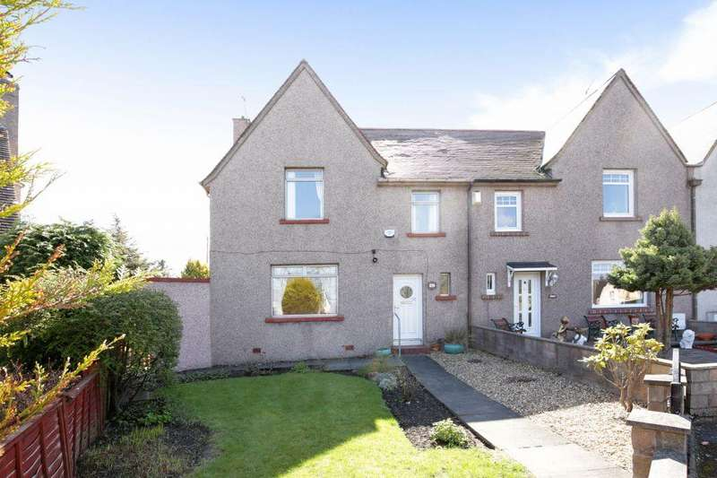 3 Bedrooms End Of Terrace House for sale in 11 Park Crescent, LOANHEAD, EH20 9BQ