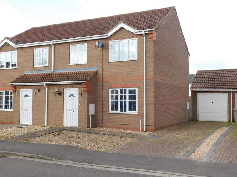 3 Bedrooms Semi Detached House for sale in Winston Drive, Skegness, PE25 2RE