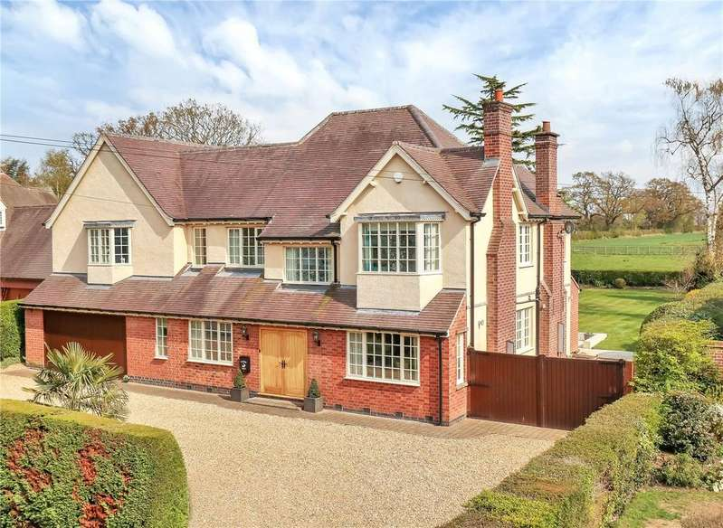 5 Bedrooms Detached House for sale in Swithland Lane, Rothley, Leicestershire