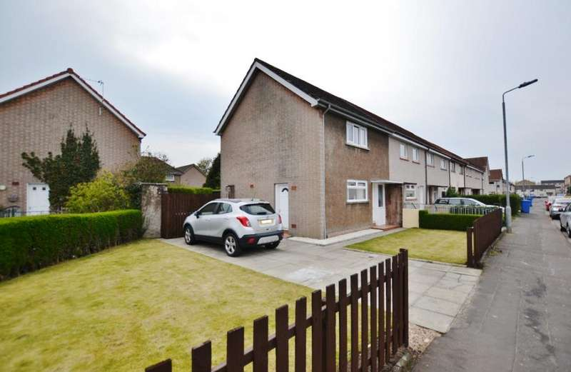 2 Bedrooms Terraced House for sale in Dickson Drive, Irvine, North Ayrshire, KA12 9AW