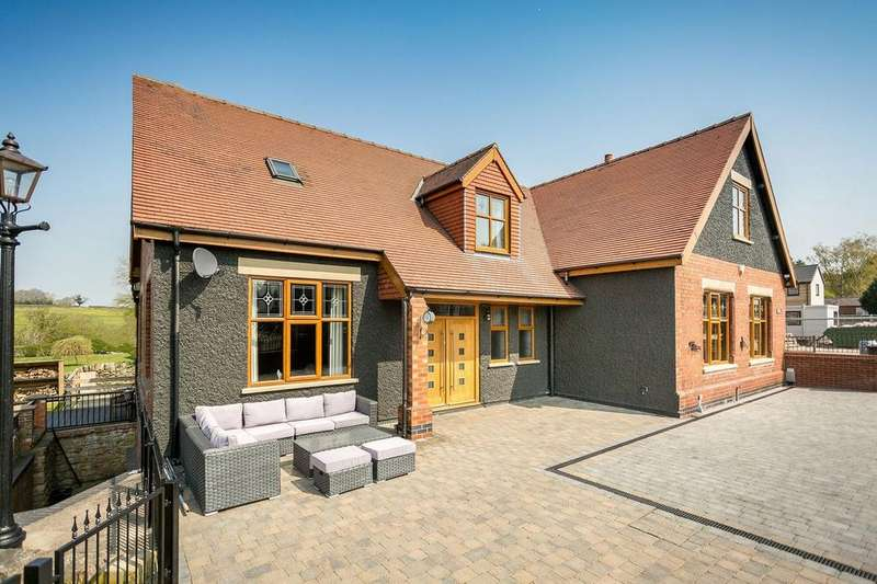 5 Bedrooms Detached House for sale in School Lane, Heage, BELPER, Derbyshire