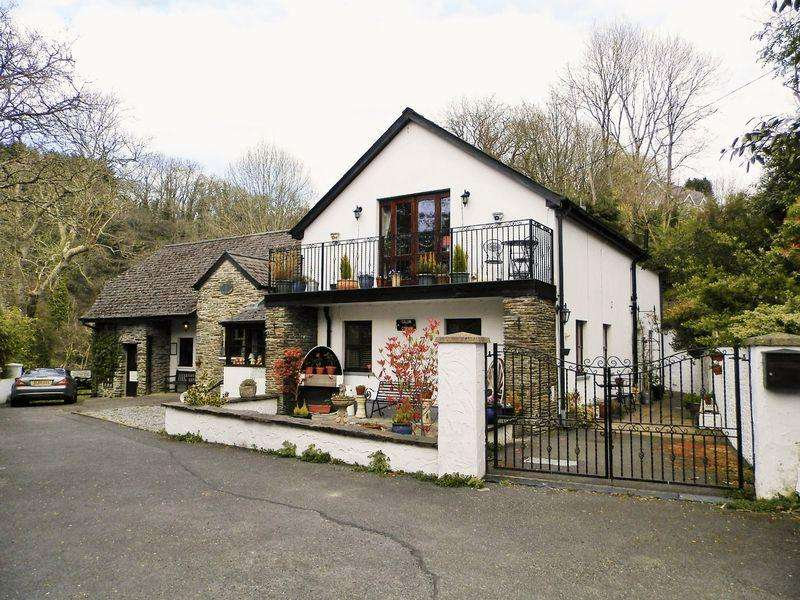 2 Bedrooms Detached House for sale in Cenarth Mill, Cenarth, Newcastle Emlyn