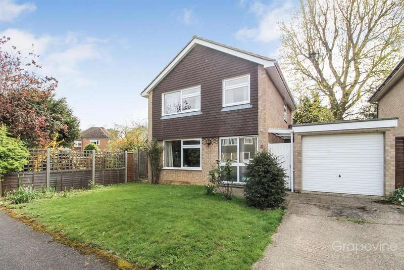 3 Bedrooms Detached House for sale in Wensley Close, Twyford, Reading