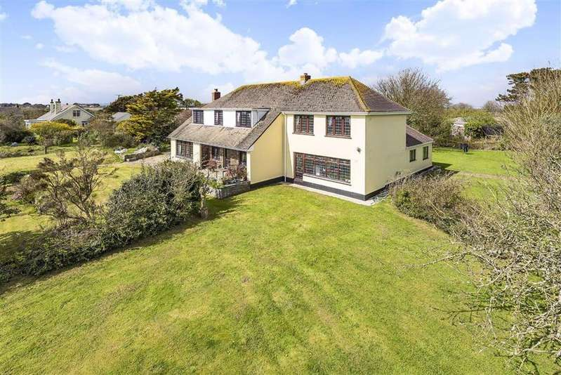 5 Bedrooms Detached House for sale in Lower Kenneggy, Rosudgeon, Penzance, Cornwall, TR20