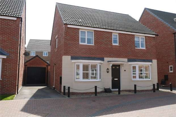 4 Bedrooms Detached House for sale in Moseley Avenue, Market Harborough, Leicestershire