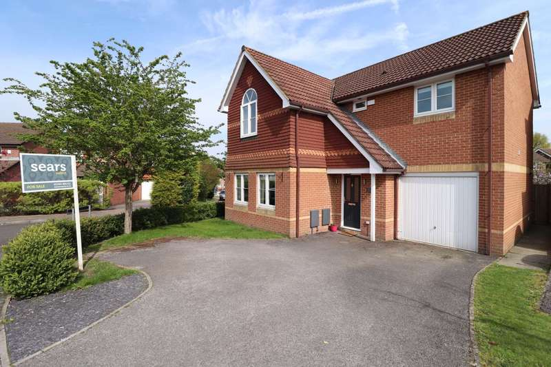 4 Bedrooms Detached House for sale in Francis Gardens, Warfield