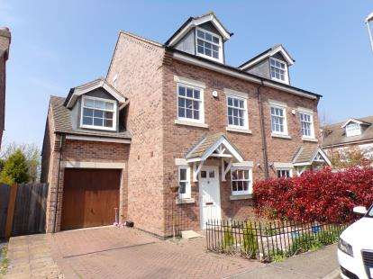 4 Bedrooms Semi Detached House for sale in Orchard Close, Scraptoft, Leicester, Leicestershire