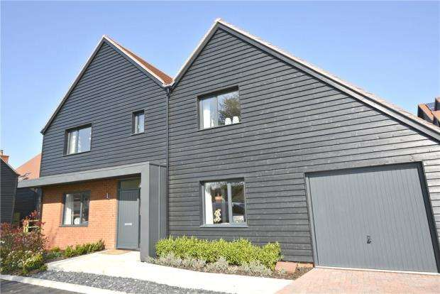 5 Bedrooms Detached House for sale in Plot 2, Wonston Road, Sutton Scotney
