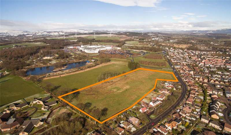 Land Commercial for sale in Stirling Road, Larbert, Stirlingshire, FK5