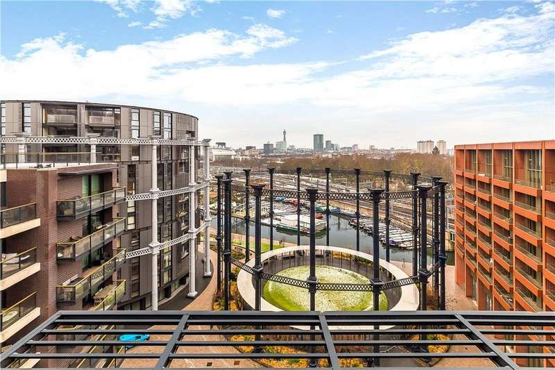3 Bedrooms Flat for sale in Plimsoll Building, 1 Handyside Street, London, N1C