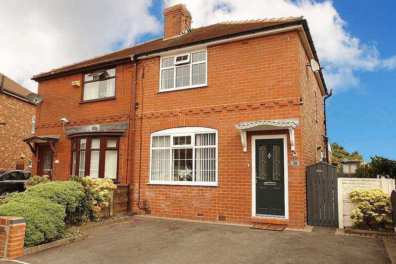 2 Bedrooms Semi Detached House for sale in Williams Crescent, Chadderton