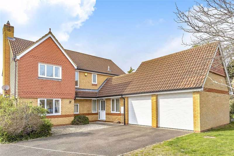 4 Bedrooms Detached House for sale in Deep Spinney, Biddenham, Bedford