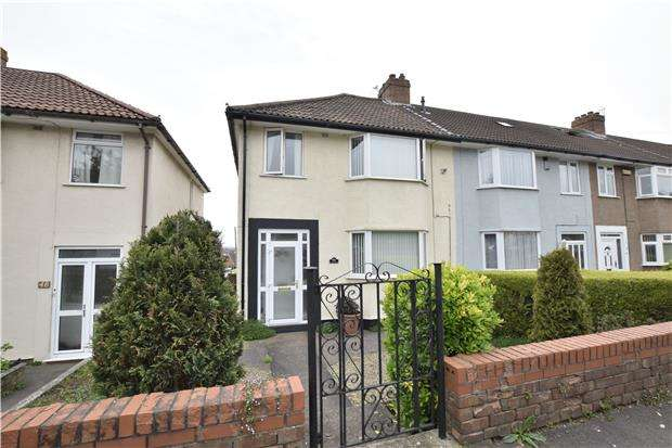 3 Bedrooms End Of Terrace House for sale in St. Aidans Road, St. George, BS5 8RT