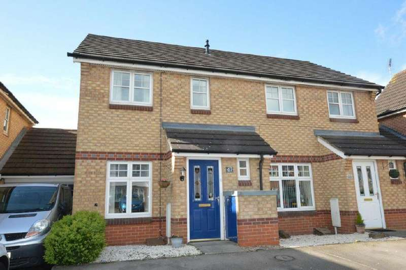 2 Bedrooms Semi Detached House for sale in Packhorse Drive, Enderby, Leicester