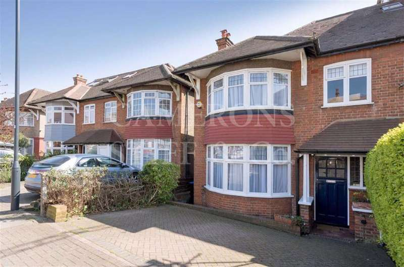 3 Bedrooms Semi Detached House for sale in Donnington Road, Kensal Rise, London, NW10