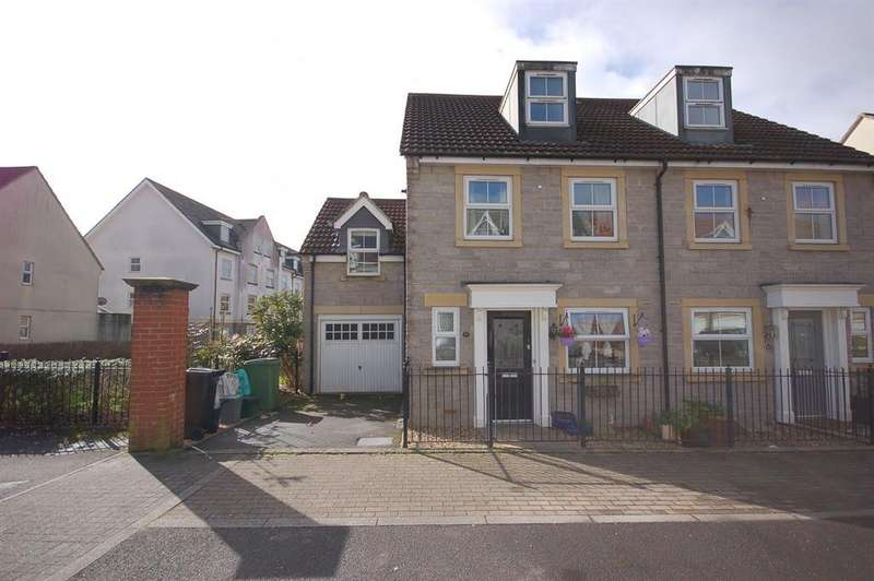 4 Bedrooms Semi Detached House for sale in Barter Close, Kingswood, Bristol, BS15 8JN