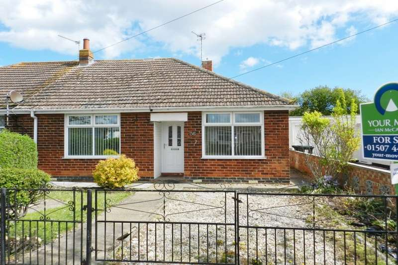 2 Bedrooms Semi Detached Bungalow for sale in Waterloo Road, Mablethorpe, LN12