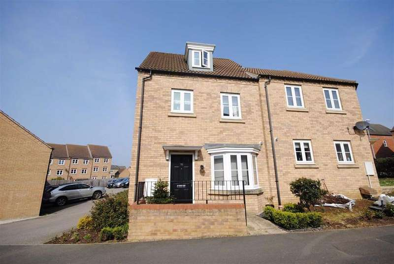 4 Bedrooms End Of Terrace House for sale in Sandpiper Way, Leighton Buzzard