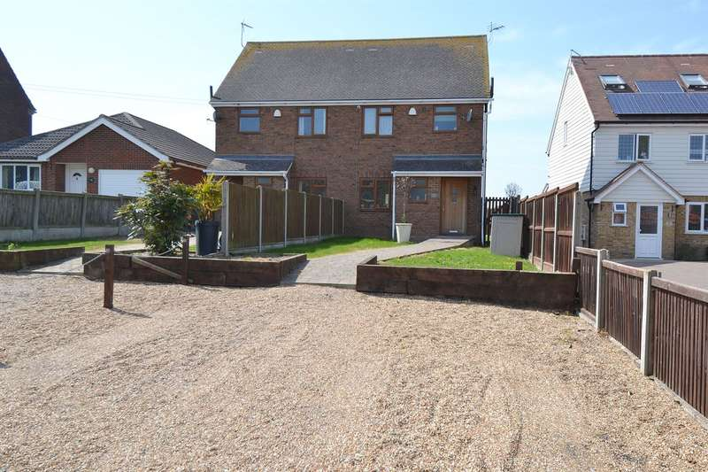 3 Bedrooms Semi Detached House for sale in Golden Hill, Tankerton, Whitstable