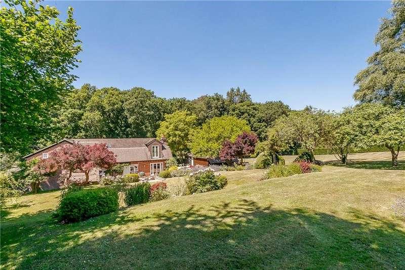 5 Bedrooms Detached House for sale in Hannington Road, Hannington, Tadley, Hampshire, RG26