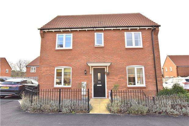 3 Bedrooms Detached House for sale in Wagtail Grove, Bishops Cleeve GL52