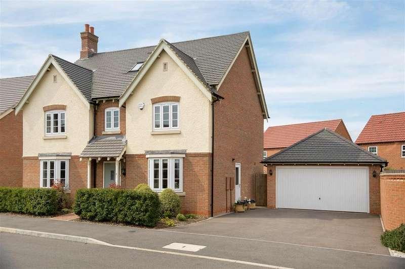 5 Bedrooms Detached House for sale in Baker Grove, Ibstock