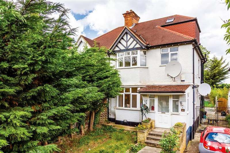 4 Bedrooms Semi Detached House for sale in Augustus Road, SW19