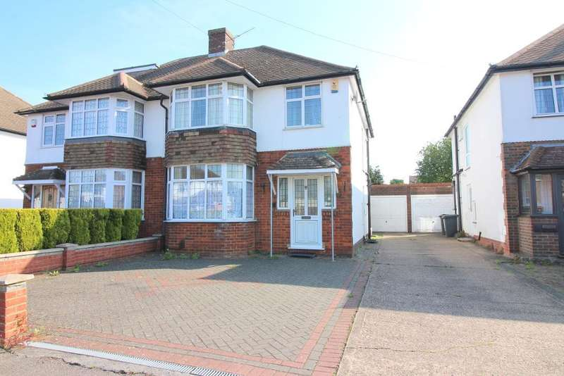 3 Bedrooms Semi Detached House for sale in Woodgreen Road, Luton, Bedfordshire, LU2 8BU