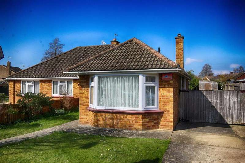 2 Bedrooms Semi Detached Bungalow for sale in Benhall Avenue, Benhall, Cheltenham, GL51