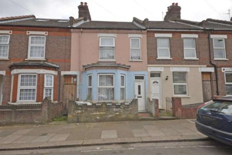 3 Bedrooms Terraced House for sale in Shirley Road LU1