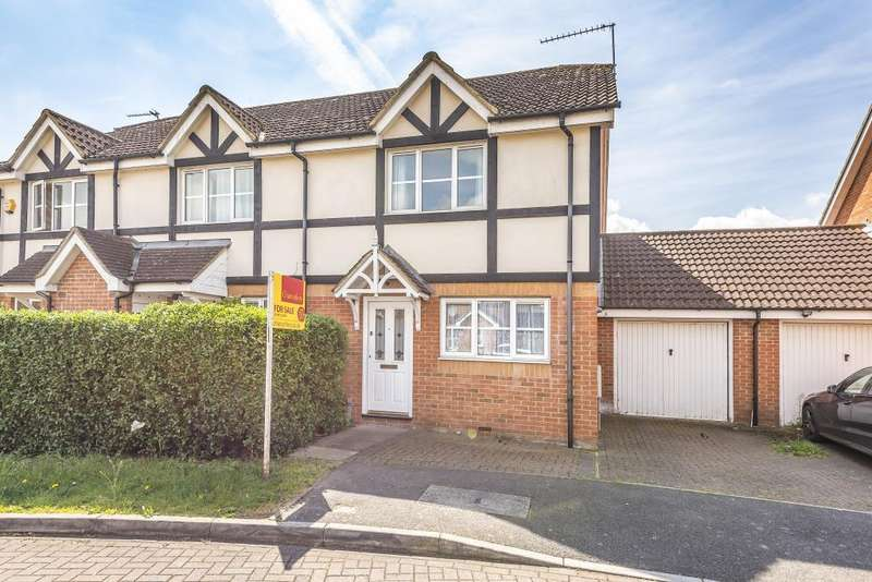 3 Bedrooms House for sale in Two Mile Drive, Cippenham, Slough, SL1