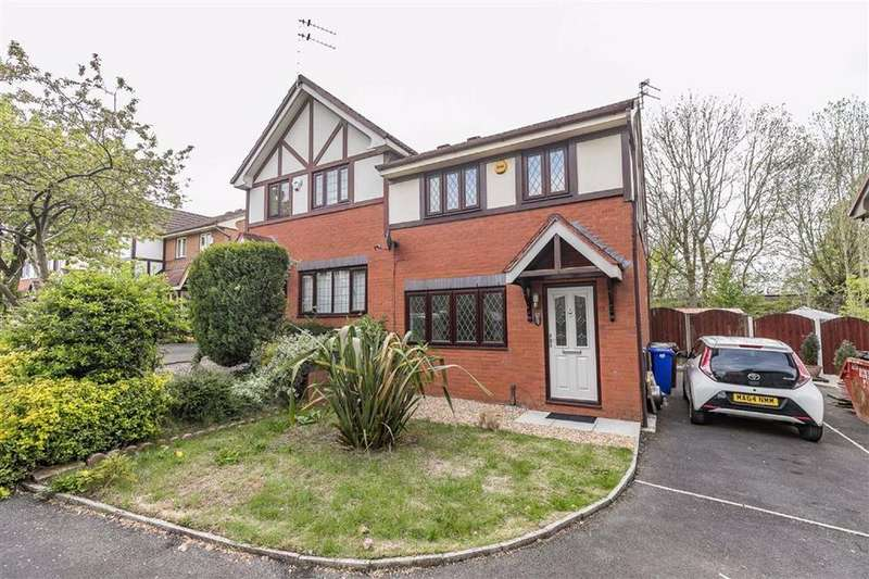 3 Bedrooms Semi Detached House for sale in Flowery Field Green, Hyde