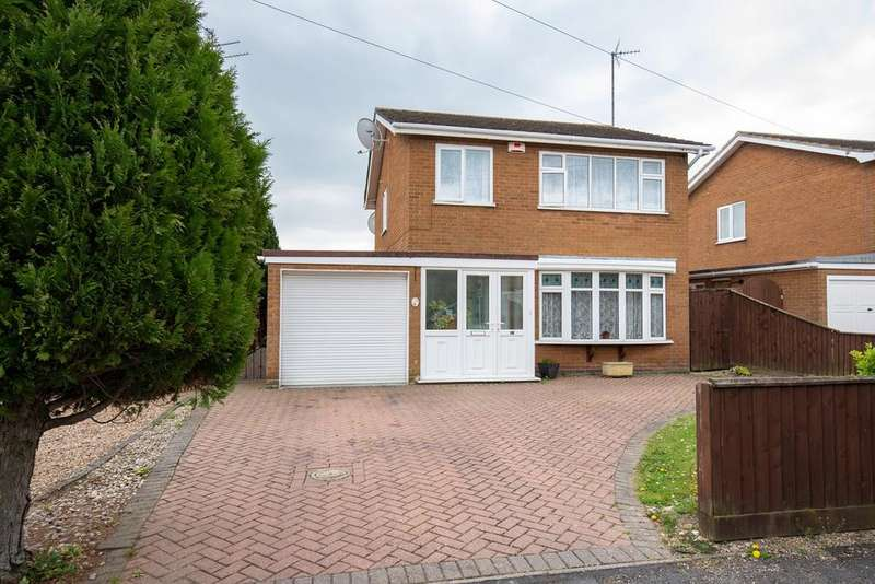 3 Bedrooms Detached House for sale in Tollgate, Spalding, PE11